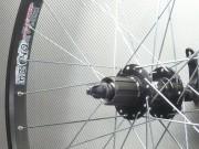 Заднее колесо под диск и кассету