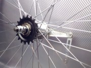Заднее колесо с тормозной втулкой