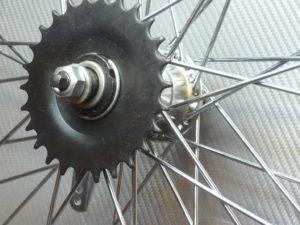 Усиленное колесо заднее 28 с втулкой
