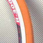 Оранжевая шоссейная покрышка 23-622