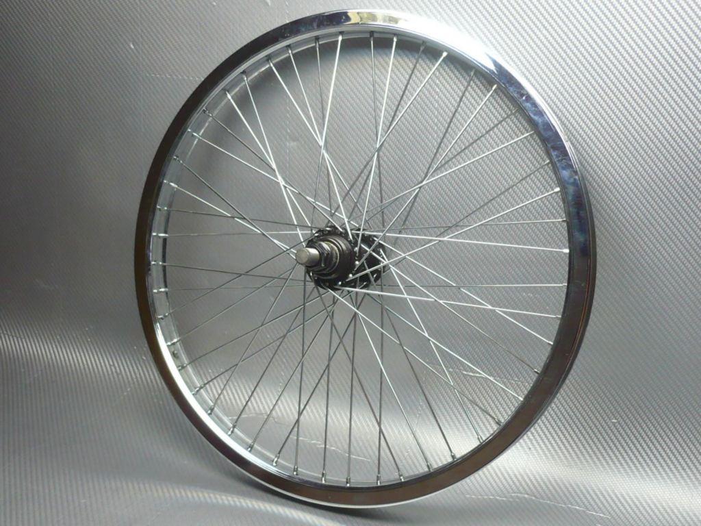 колесо BMX хром