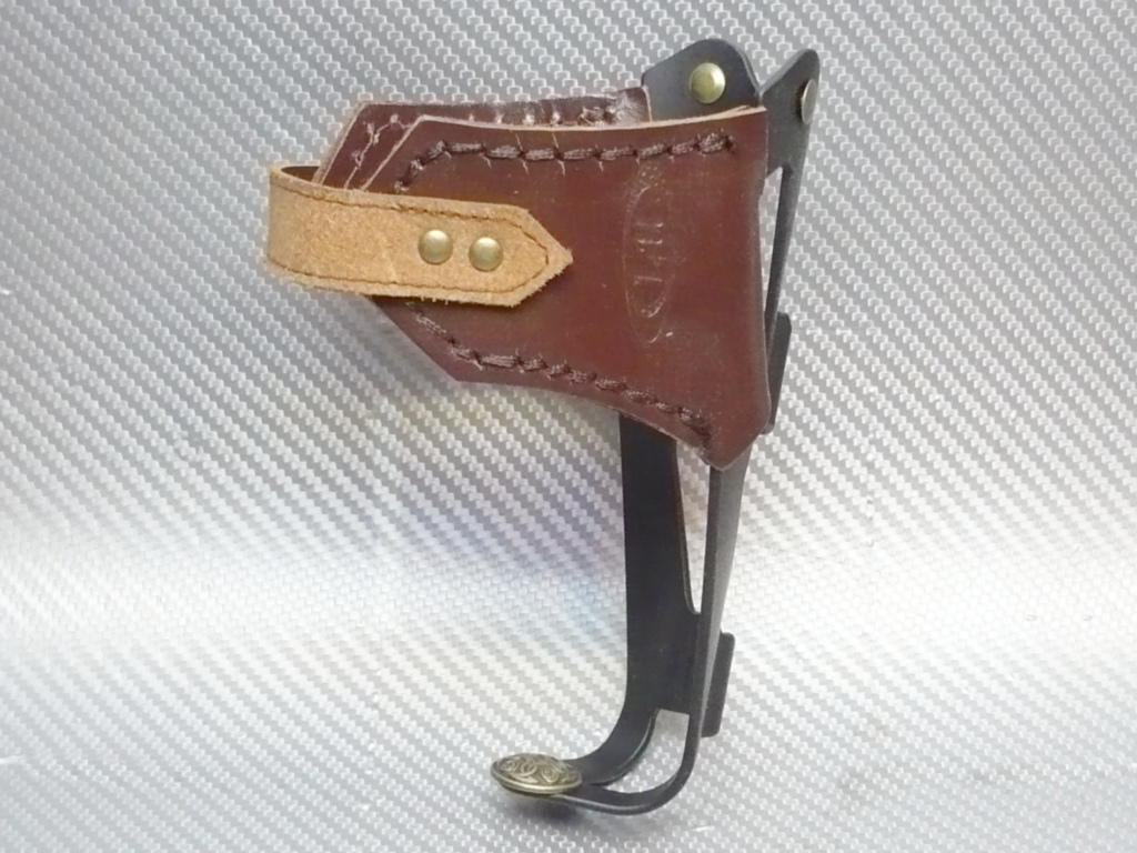 флягодержатель кожаный