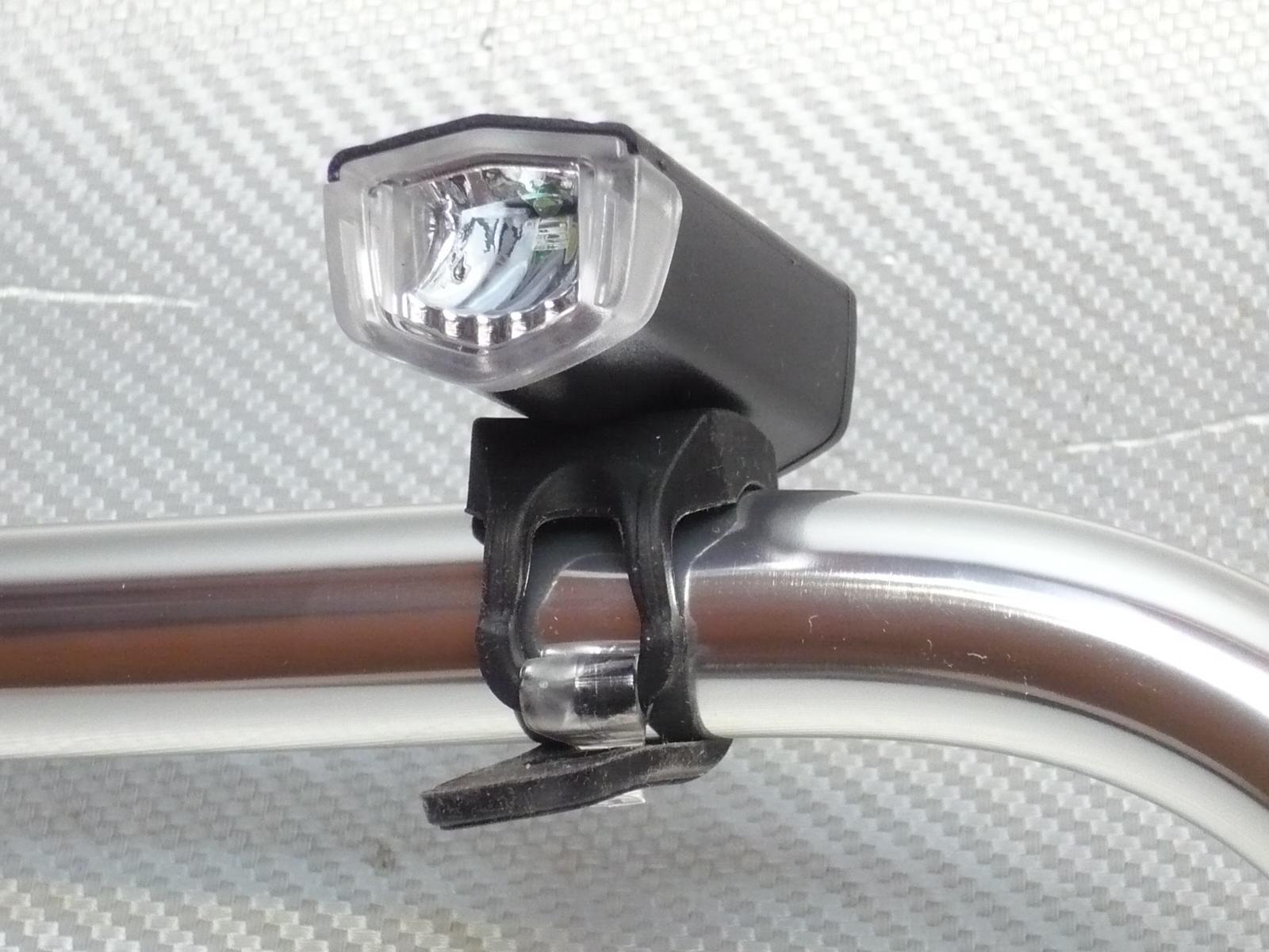 велофара USB